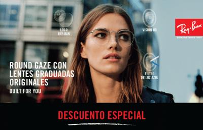 Gafas RayBan graduadas 2 opticagracia.es